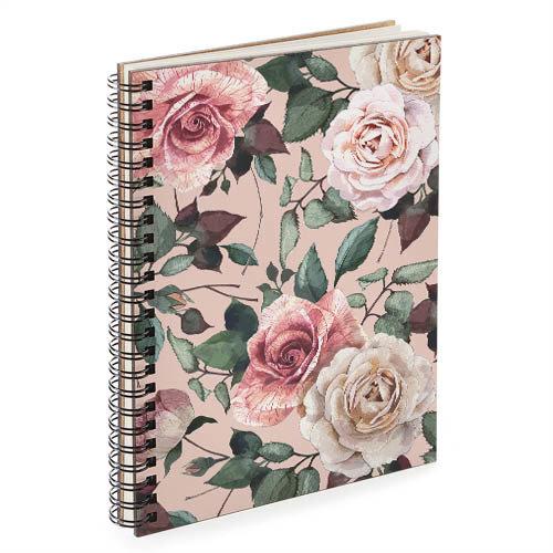 Блокнот Sketchbook (прямоуг.) Розы