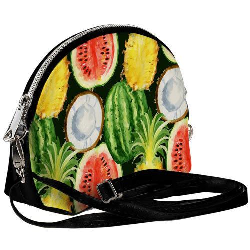 Маленькая женская сумочка Coquette Тропические фрукты