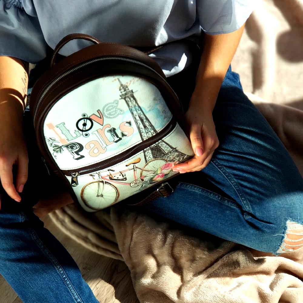 Городской женский рюкзак Париж