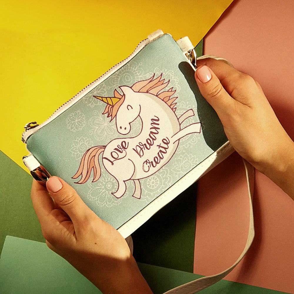 Сумка для девочки Little fairy Единорог Love Dream Create