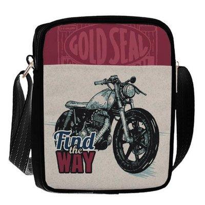 Сумка для подростков Junior boy Мотоцикл SDB_18A002_BL