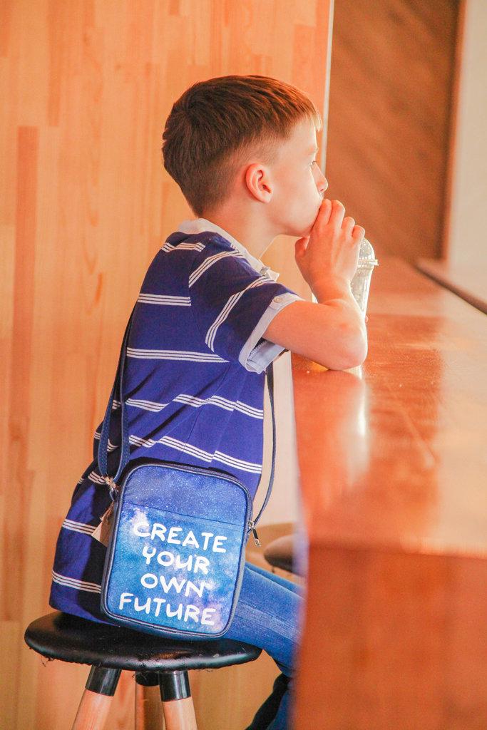 Сумка для подростков Junior boy Create your own future