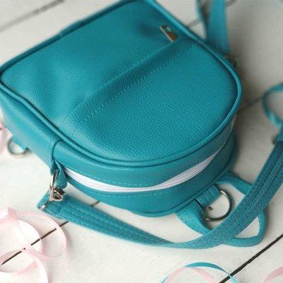 Маленький рюкзак-сумка Rainbow, цвет голубой ERR_GOL