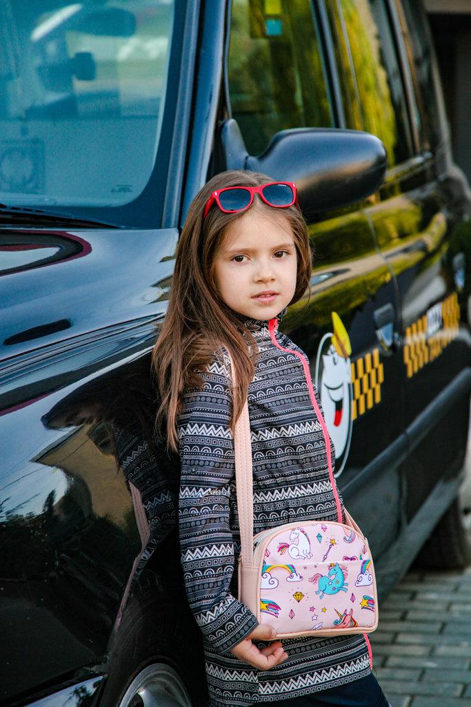Сумка для подростков Junior girl Единороги и радуга