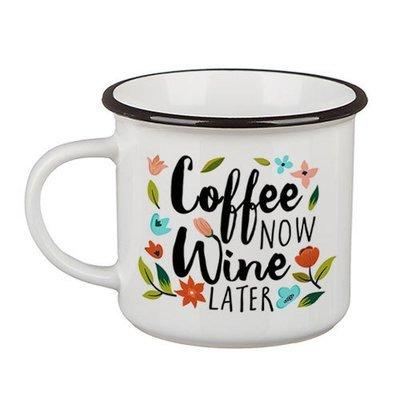 Стильная кружка Camper Coffee now, wine later KRC_18J021