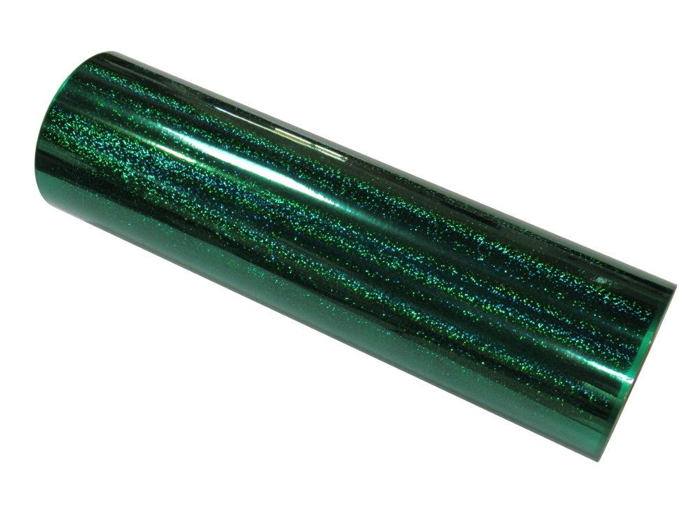 Griff Decorative Films Fantasy Holographic Sequins -Emerald Green