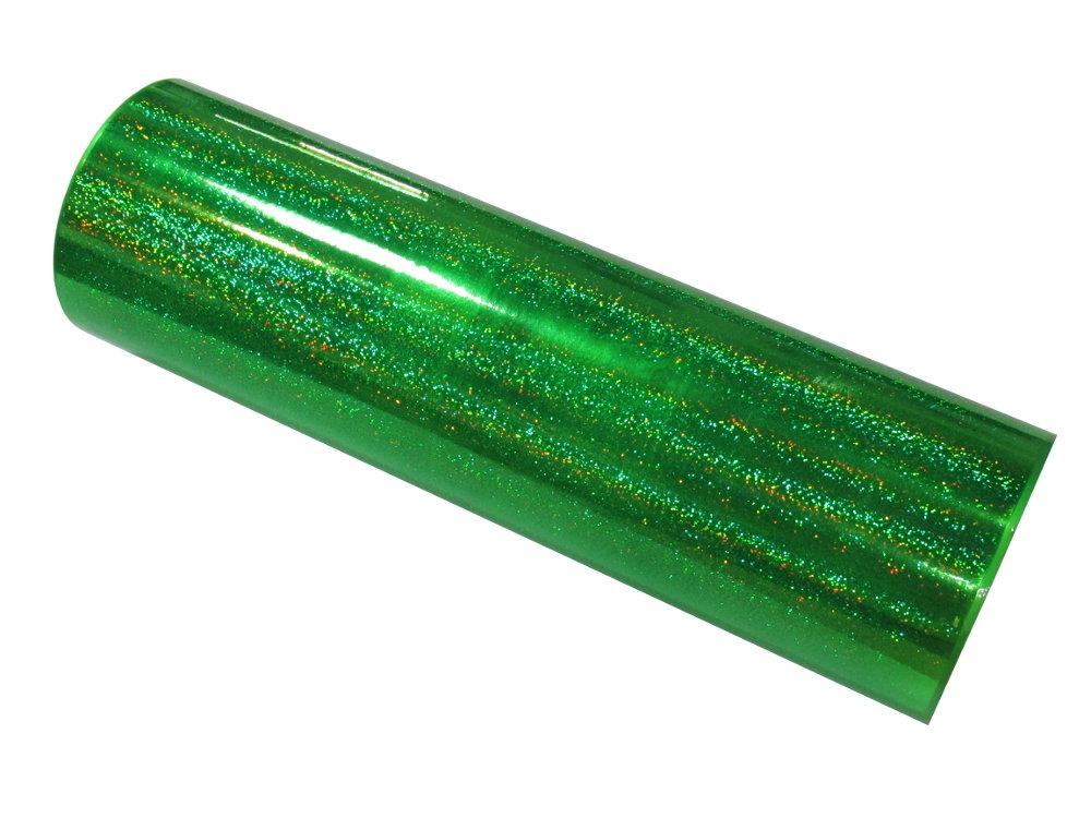 Griff Decorative Films Fantasy Holographic Sequins -Fluorescent Green