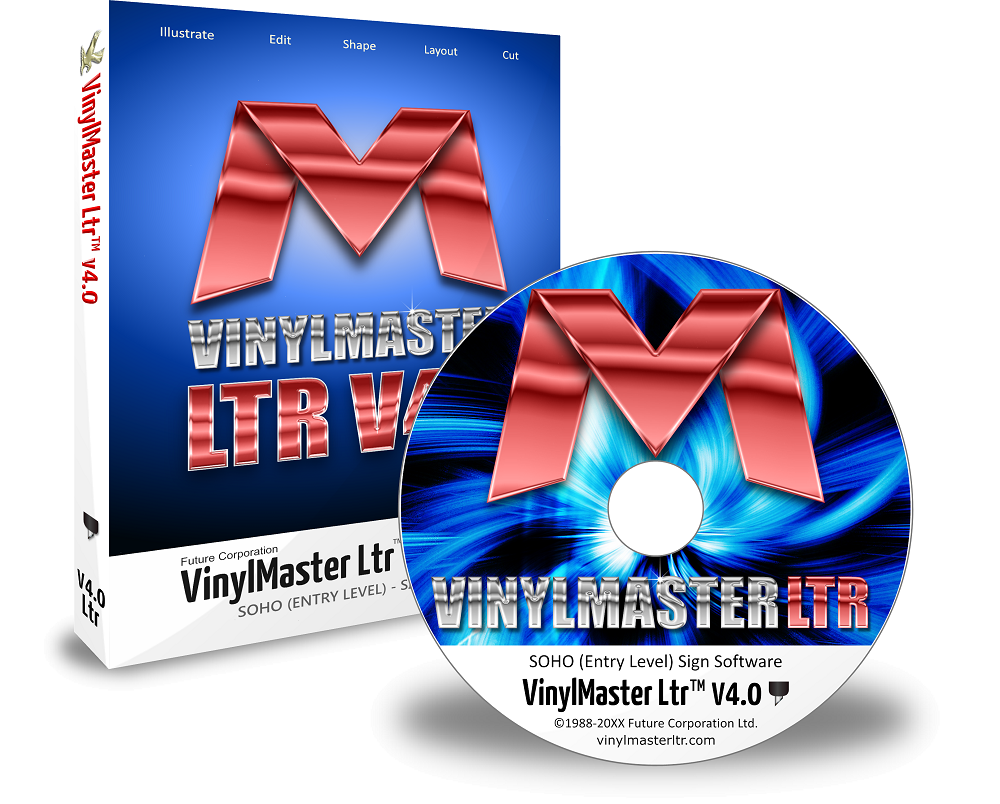 VinylMaster Software – V4 Letter Edition LTR