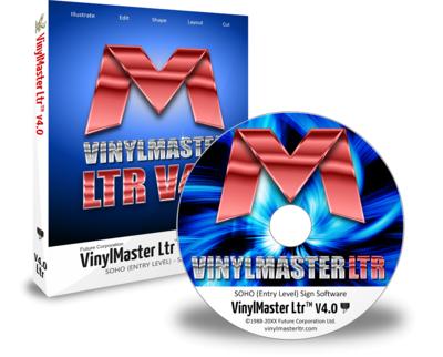 VinylMaster Software – V4 Letter Edition LTR