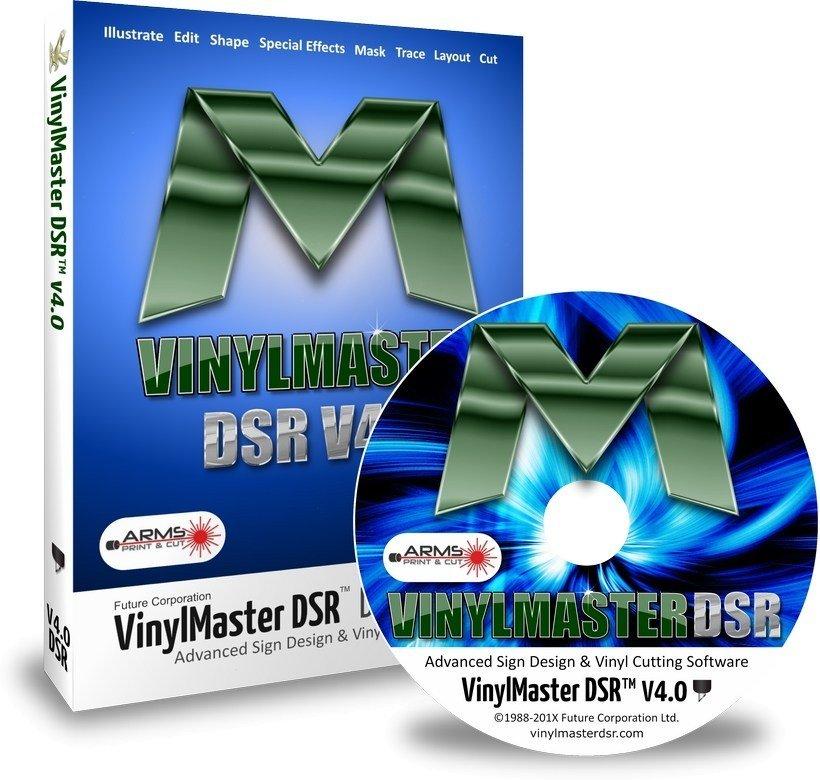 VINYLMASTER SOFTWARE – V4 DESIGNER EDITION DSR