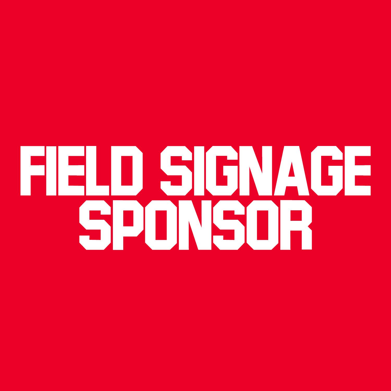 Field Signage Sponsor