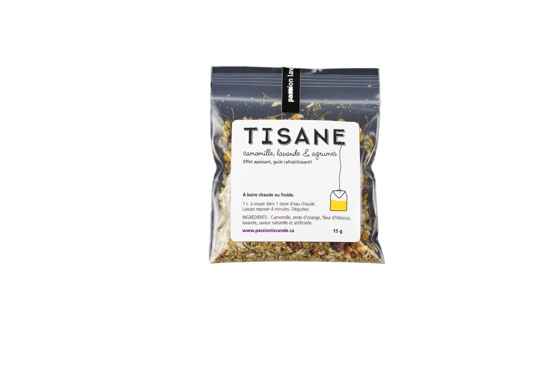 Tisane à la lavande, agrumes & camomille