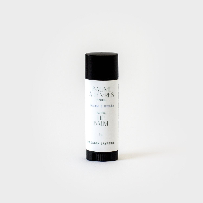 Baume à lèvres en bâton (choix de saveurs)