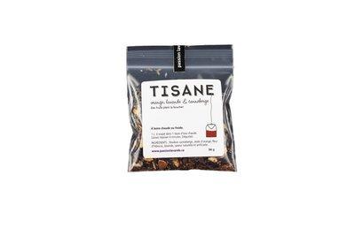 Tisane à la lavande, orange et canneberge