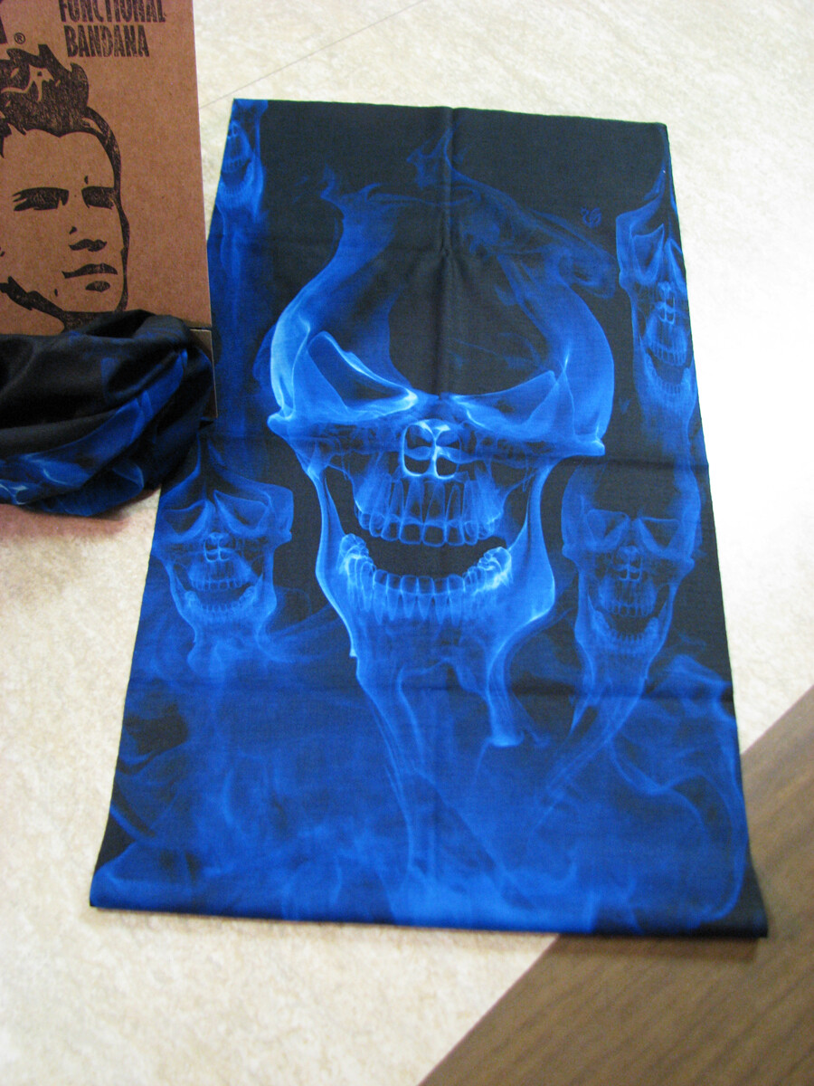 Blue Evil - Headz Up Multi-Functional Bandana