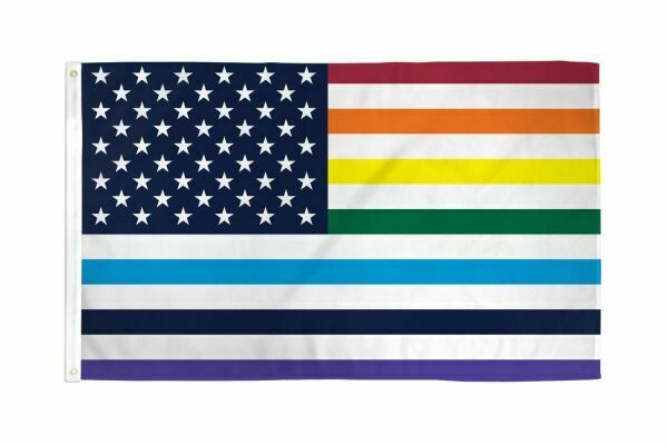 FLAG USA RAINBOW 3X5FT