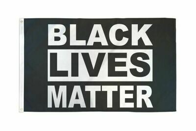 FLAG BLACK LIVES MATTER 3X5FT
