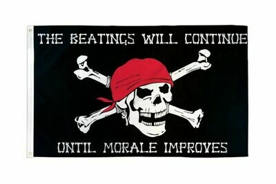 FLAG PIRATE MORALE 3X5FT