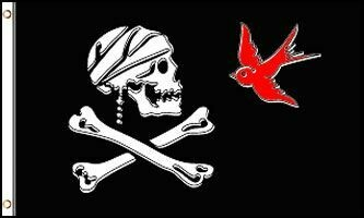 FLAG SPARROW PIRATE 3X5FT
