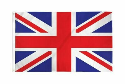 FLAG UNITED KINGDOM NATIONAL 3X5FT