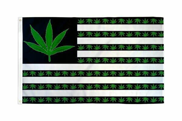 FLAG USA MARIJUANA 3X5FT