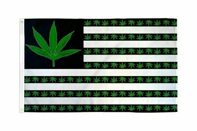 FLAG USA MARIJUANA 3X5FT