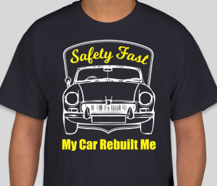 MGB My Car Rebuilt Me T-Shirt