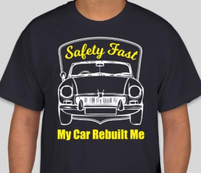 MGB My Car Rebuilt Me T-Shirt
