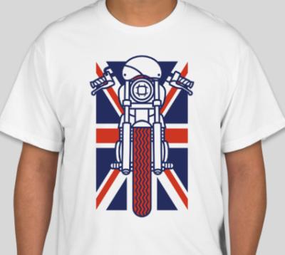 Union Jack Cafe Racer T-Shirt