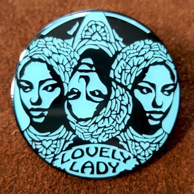 DMB Lovely Lady Pin - Iceberg Variant LE25