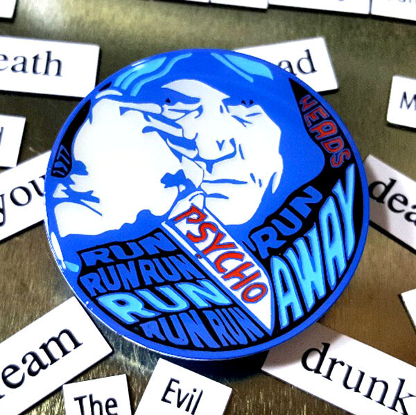 Psycho Killer Pin - Blue Variant LE 25