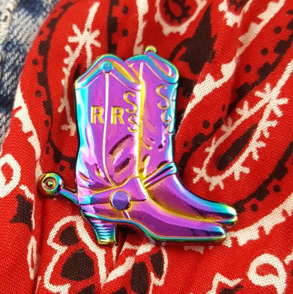 Pigpen Start Walkin' Pin - Rainbow Variant LE 15
