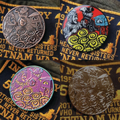 Watchtower Pin Set - All 4 Variants