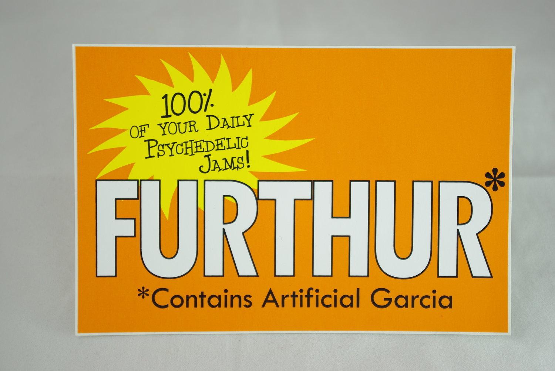 Furthur Sticker
