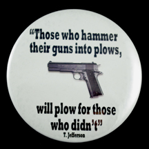 """Those Who Hammer 3"""" Pin-back Button"""