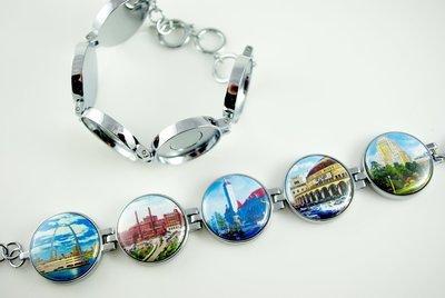 Artclix St. Louis Landmarks PK1 Bracelet Buttons