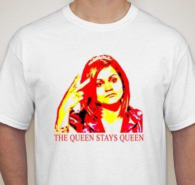 Queen Stays Queen Sandra Diaz-Twine T-Shirt