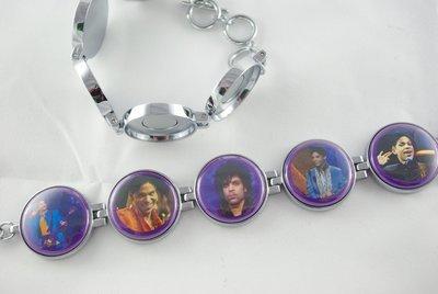Artclix Prince Bracelet Buttons