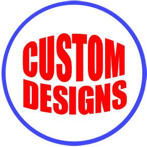 "Custom 3"" Pin-back Button"