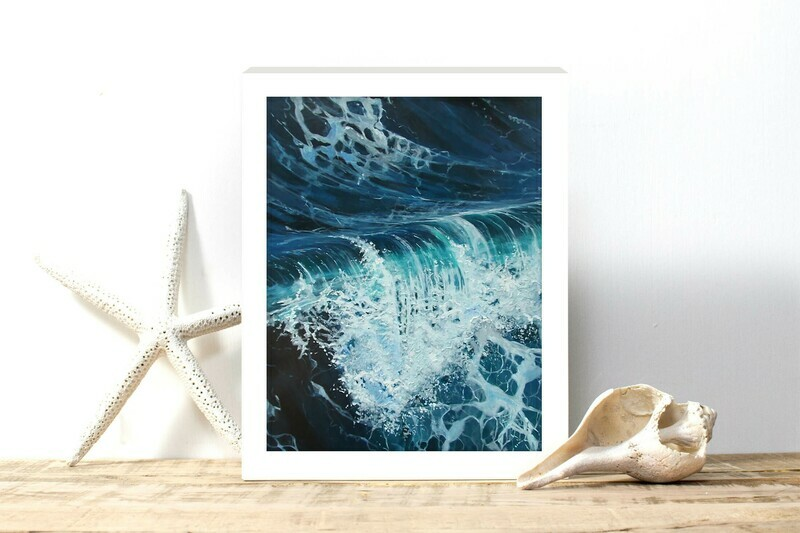 Rolling Wave Print