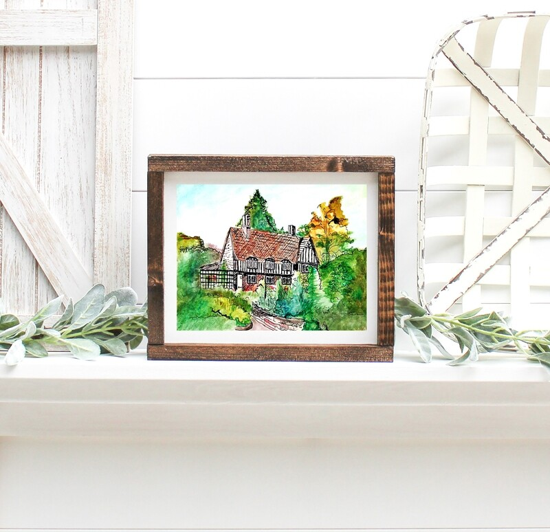 The Charming Cottage Print
