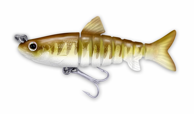 115 Vudu Mullet Gold Croaker 3.5 inch 1/4 oz (1/pk)