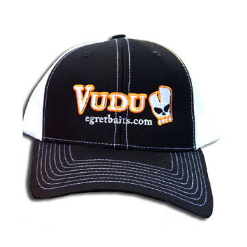 VUDU HAT - BLACK/WHITE