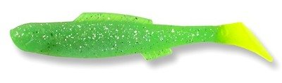 135 Egret Bayou Chub Minnow Glow Limeade 3.5 inch (8/pk) DISCONTINUED