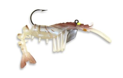 04 Vudu Shrimp Natural 4 inch 1/4 oz (2pk)