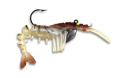 04 Vudu Shrimp Natural 3.25 inch 1/4 oz (2pk)