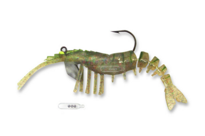 06 Vudu Shrimp Rattler Magic 3.5 inch 1/4 oz (2/pk)