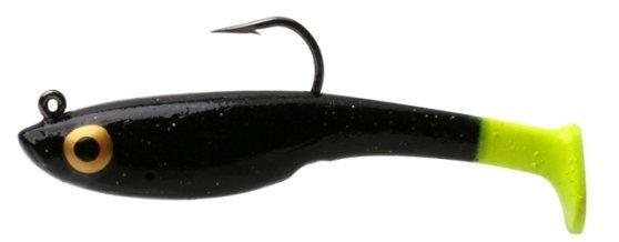 15 Vudu Vixen Black Magic/Chart Tail 3 inch 1/4oz  (2/pk)