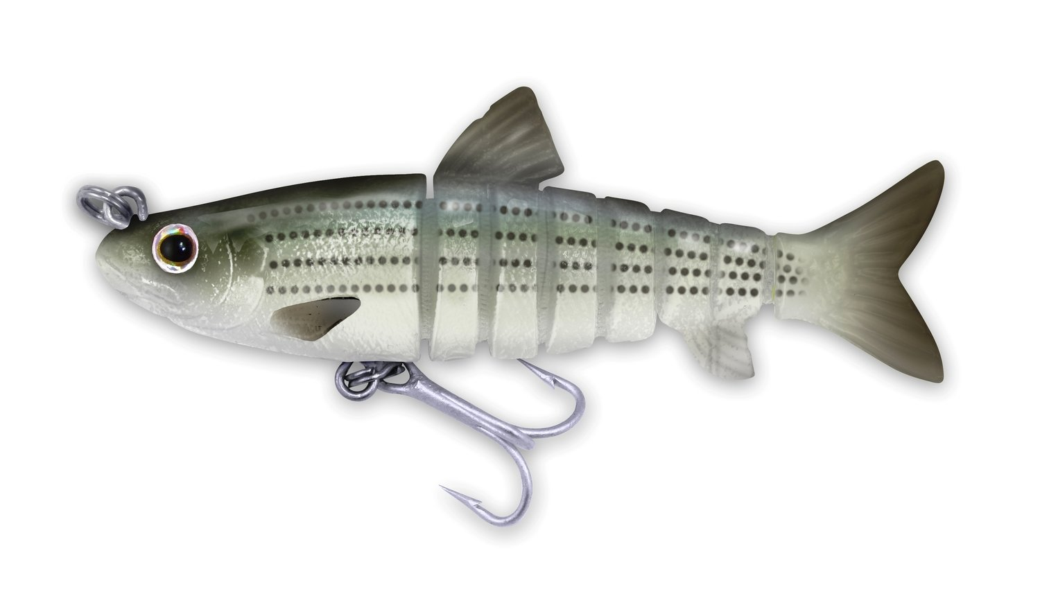 113 Vudu Mullet Striped Mullet 3.5 inch 1/4 oz (1/pk)