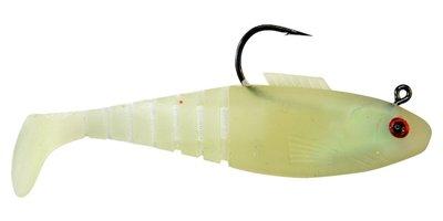 02 Vudu Shad Glow 3 inch 1/4oz 3/pk